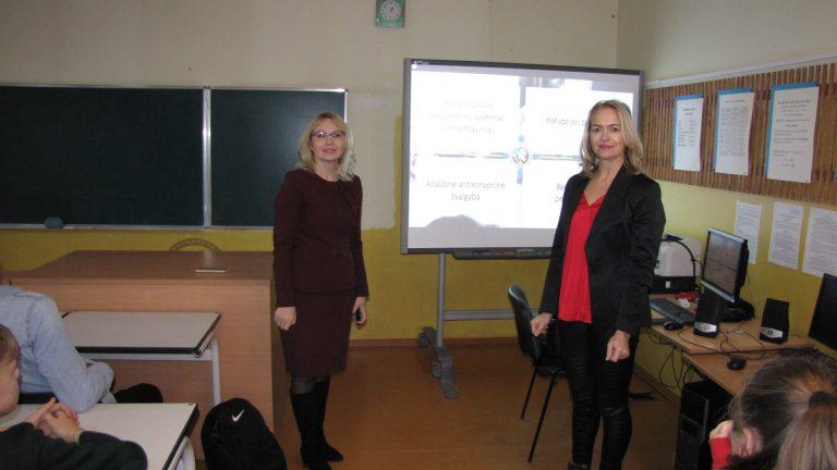 Antikorupcijos dienos paminėjimas mokykloje